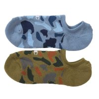 Champion フットカバーCamo Sox 2P[DuckHunterCamoBlue&Green]<img class='new_mark_img2' src='//img.shop-pro.jp/img/new/icons5.gif' style='border:none;display:inline;margin:0px;padding:0px;width:auto;' />