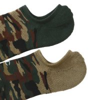 Champion フットカバーCamo Sox 2P[WoodLandCamoKahki&Green]<img class='new_mark_img2' src='//img.shop-pro.jp/img/new/icons5.gif' style='border:none;display:inline;margin:0px;padding:0px;width:auto;' />