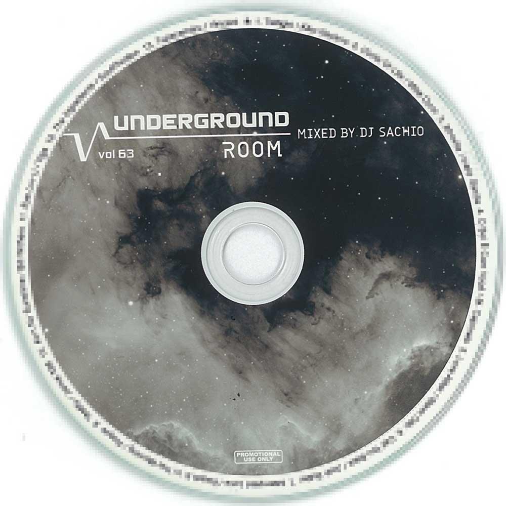 DJ SACHIO - UNDERGROUND ROOM VOL.63