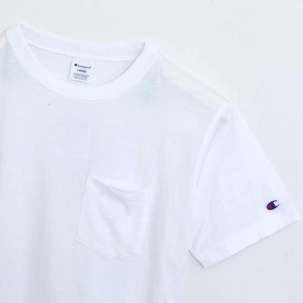 Champion POCKET T-SHIRT[WHITE] - C3-K340