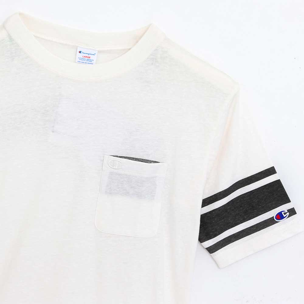 Champion FOOTBALL T-SHIRT[OFFWHITE] -...