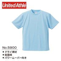[ UNITED ATHLE ] 5900 4.1OZ DRY ATHLETIC T-SHIRT - ユナイテッドアスレ ドライ 無地 Tシャツ (プリント対応)