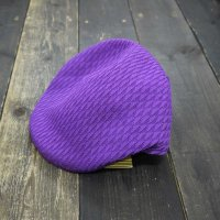KANGOL MESH HUNTING CAP [PURPLE/L]