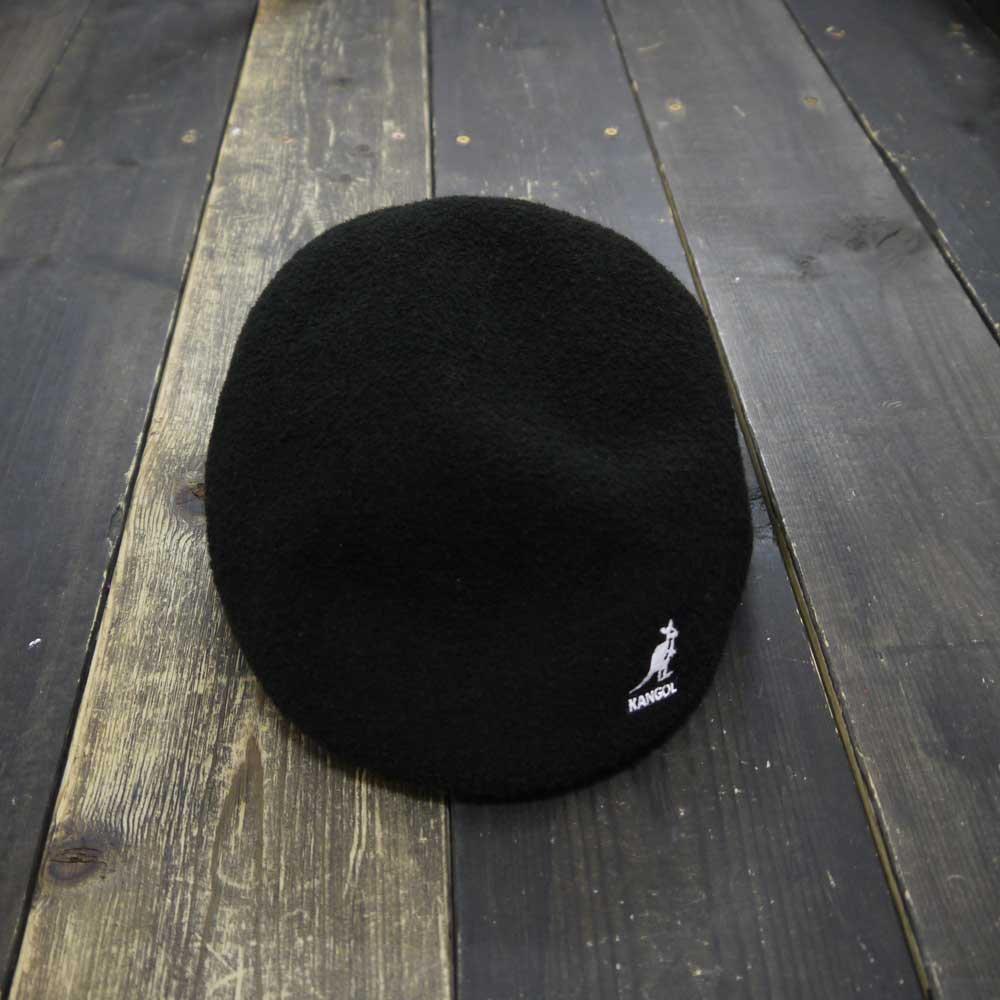 KANGOL BERMUDA HUNTING CAP [BLACK/L]