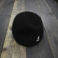 KANGOL BERMUDA HUNTING CAP [BLACK/L]<img class='new_mark_img2' src='//img.shop-pro.jp/img/new/icons5.gif' style='border:none;display:inline;margin:0px;padding:0px;width:auto;' />