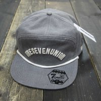 7UNION SMITH STRAP BACK [BLACK] -  IAVW-108