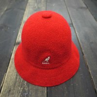 KANGOL BERMUDA CASUAL HAT [RED/M]