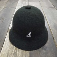 KANGOL BERMUDA CASUAL HAT [BLACK/M]