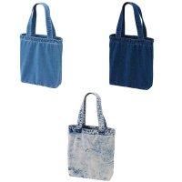 UNITED ATHLE 3970 DENIM TOTE BAG[3 Color] - オリジナルプリント対応/オリジナル刺繍対応
