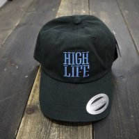 JSLV HIGH LIFE X-JAY DAD HAT CAP[BLACK] - MHA1049<img class='new_mark_img2' src='//img.shop-pro.jp/img/new/icons5.gif' style='border:none;display:inline;margin:0px;padding:0px;width:auto;' />