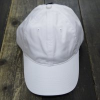 [SUPER SALE/30%OFF]NIKE GOLF TWILL CAP/BALL CAP/LOW CAP [WHITE]  - オリジナル刺繍/プリント対応商品