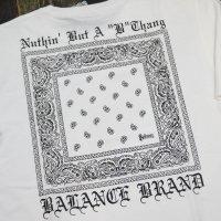 BALANCE STREET NBBT-BANDANA T-SHIRTS[WHITE]
