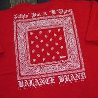 BALANCE STREET NBBT-BANDANA T-SHIRTS[RED]