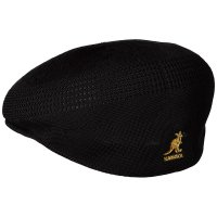 KANGOL HUNTING CAP [BLACK/GOLD]- 175169001