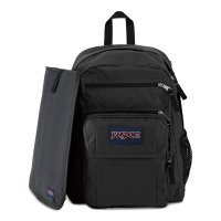 JANSPORT DIGITAL STUDENT BACKPACK[BLACK / FORGE GREY]