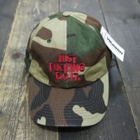 7UNION JUST FUNKING DO IT BRIM CAP [GREEN CAMO] - IAVW-131