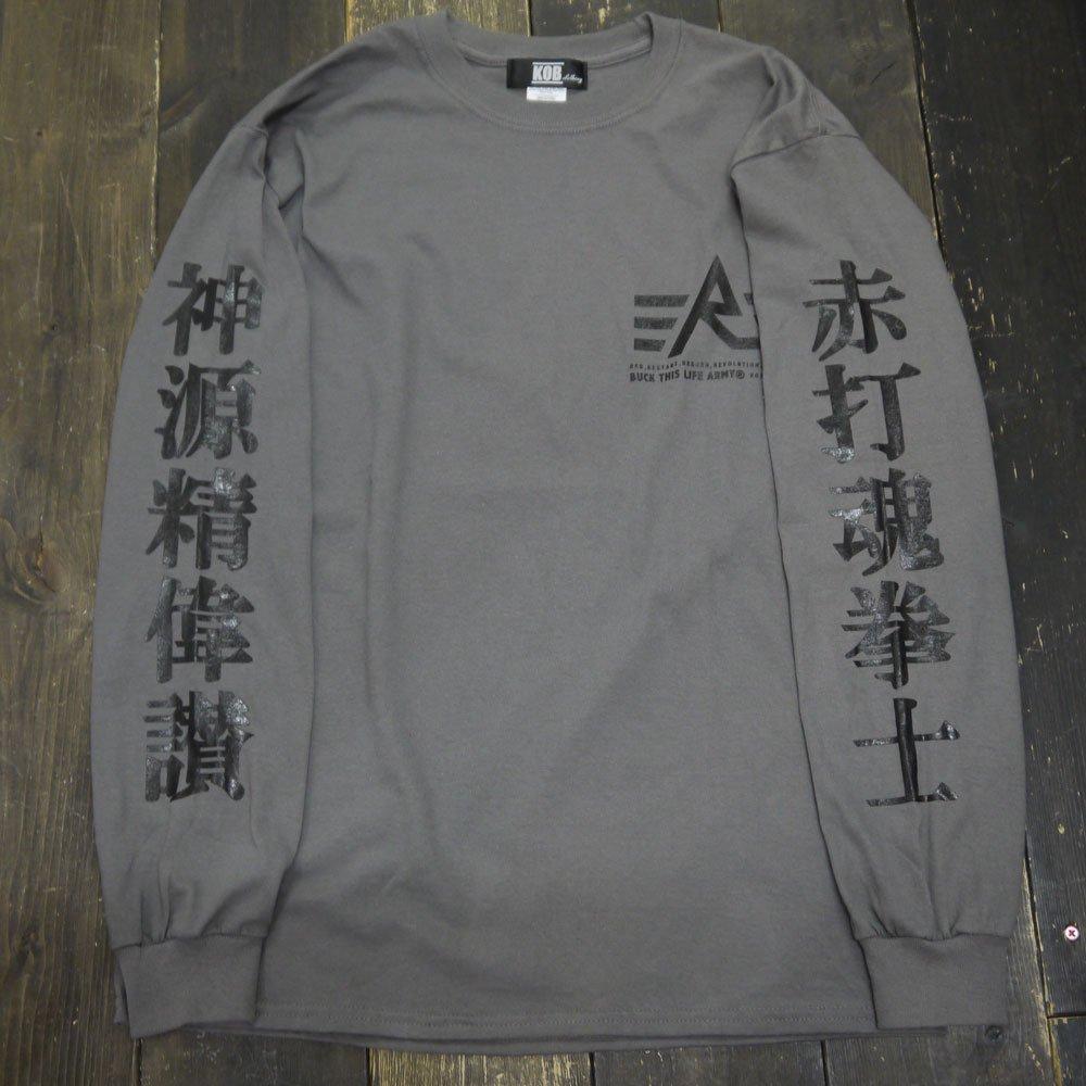 [先行発売]KOB Clothing  (R)漢字 L/S T...