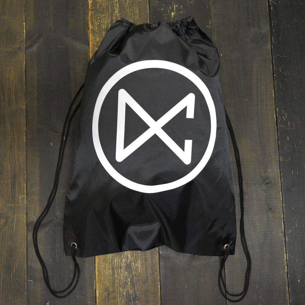 DANCERS COLLECTION DC CIRCLE LOGO STRING BAG - シューズバッグ