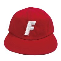FORGET NEVER F LOGO BALL CAP[RED]