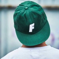 FORGET NEVER F LOGO BALL CAP[IVY GREEN]