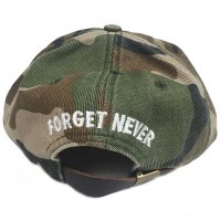 FORGET NEVER F LOGO BALL CAP[CAMO]