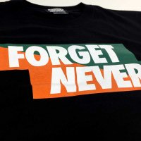 FORGET NEVER CENES BOX T-SHIRT[BLACK]