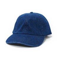 [ NEWHATTAN ] H1155 Washed Denim Cap[3color] - オリジナル刺繍/プリント対応商品