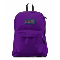 JANSPORT SUPER BREAK  PACK BACKPACK[SIGNATURE PURPLE]