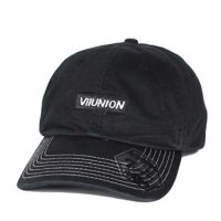 7UNION BOX GARMENT DYE BENT BRIM CAP[BLACK] - IAVW-133