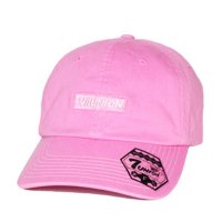 7UNION BOX GARMENT DYE BENT BRIM CAP[PINK] - IAVW-133