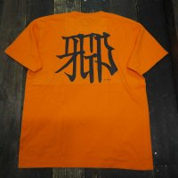 RUGGED × CICCIO aka chief KANJI T-SHIRTS [ORANGE]