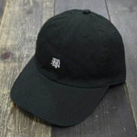RUGGED × CICCIO aka chief KANJI ADJUSTER CAP[BLACK]