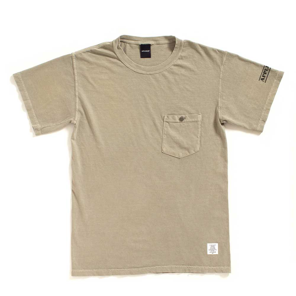 APPLEBUM CONCHO OVER-DYE POCKET T-SHI...