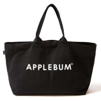 APPLEBUM SKULL LOGO CANVASZIP TOTEBAG[BLACK] - 1721012<img class='new_mark_img2' src='//img.shop-pro.jp/img/new/icons5.gif' style='border:none;display:inline;margin:0px;padding:0px;width:auto;' />