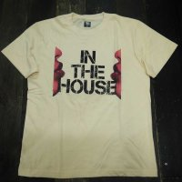 DC CLOTHING IN THE HOUSE T-SHIRTS[NATURAL] - For HOUSE DANCER