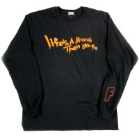 [SUPER SALE/30%OFF]FORGET NEVER LIFE'S A BXXCH LONG SLEEVE T-SHIRT[BLACK] <img class='new_mark_img2' src='//img.shop-pro.jp/img/new/icons16.gif' style='border:none;display:inline;margin:0px;padding:0px;width:auto;' />