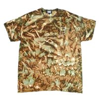 [SUPER SALE/30%OFF]FORGET NEVER OLD LETTER TIE-DYE CAMO T-SHIRT[CAMO]
