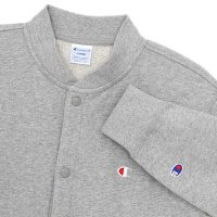 Champion SWEAT CARDIGAN[OXFORDGRAY] - C3-G023