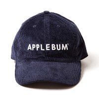 APPLEBUM LOGO CORDUROY CAP [NAVY] - 1720903<img class='new_mark_img2' src='//img.shop-pro.jp/img/new/icons5.gif' style='border:none;display:inline;margin:0px;padding:0px;width:auto;' />