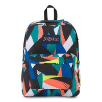 JANSPORT SUPERBREAK BACKPACK[STELLAR BLUE GEO FLORAL] - T501