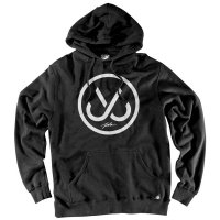 [SUPER SALE/30%OFF]JSLV HOOKS PULL-OVER FLEECE[BLACK]  - HP8006F