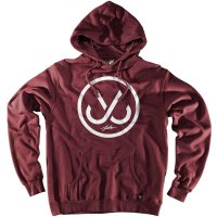 JSLV HOOKS PULL-OVER FLEECE[BURGUNDY]  - HP8006F