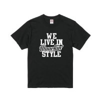 DC CLOTHING WE LIVE IN waackin' T-SHIRTS