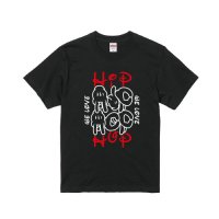 He Loves HIP HOP too T-SHIRTS[WHITE] - For HIP HOP DANCER