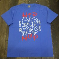 He Loves HIP HOP too T-SHIRTS[BLUE] - For HIP HOP DANCER