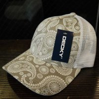 [SUPER SALE/40%OFF]DECKY PAISLEY MESH CAP[GRAY]