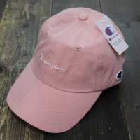 Champion FRONT LOGO COTTON LOW CAP[PINK] - 381-0047