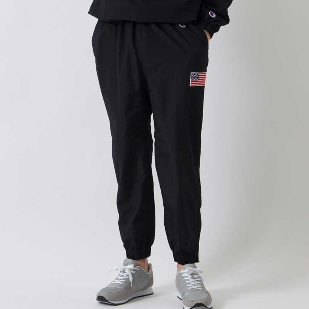 Champion NYLON LONG PANTS[BLACK] - C3...