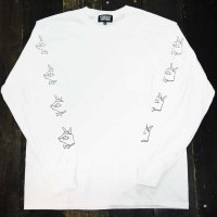 [DC 限定]FORGET NEVER TIE BREAK POCKET LONG SLEEVE T-SHIRT[WHITE]