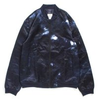 [SUPER SALE/30%OFF]APPLEBUM NAVY DYEING MA-1 JACKET[NAVY] - 1720618